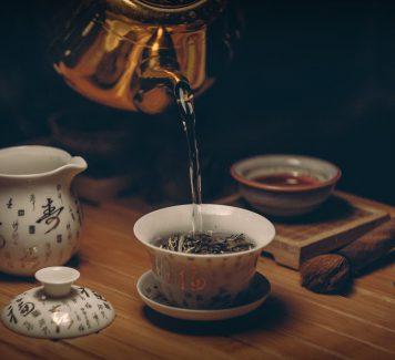 Verschillende soorten thee