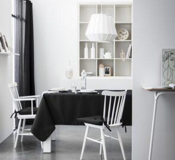 Ronde, vierkante, witte en zwarte tafelkleden van Today