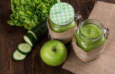 De beste groene smoothie voor het trainen